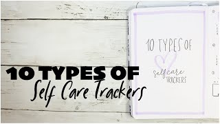 10 Types of Self Care Trackers for Bullet Journal screenshot 5