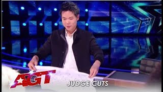 Eric Chien: Can This Close-up Magician BEAT Current Champ Shin Lim? | America's Got Talent 2019