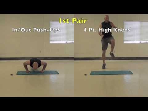 SickFit:  Fit In 15 Tabata HIIT Bodyweight Workout # 3