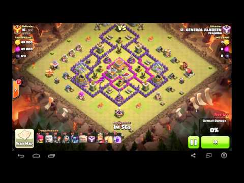 Clash of Clans Mix and GOWIPE ATTACK
