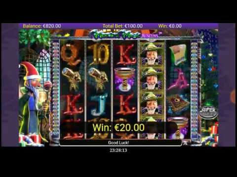 MERLIN'S MAGIC RESPINS 8000 € WIN Free Spins Mobile Slot Games