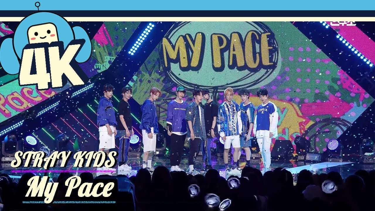 4k Focus Cam Stray Kids My Pace Show Music Core 20180818 Youtube