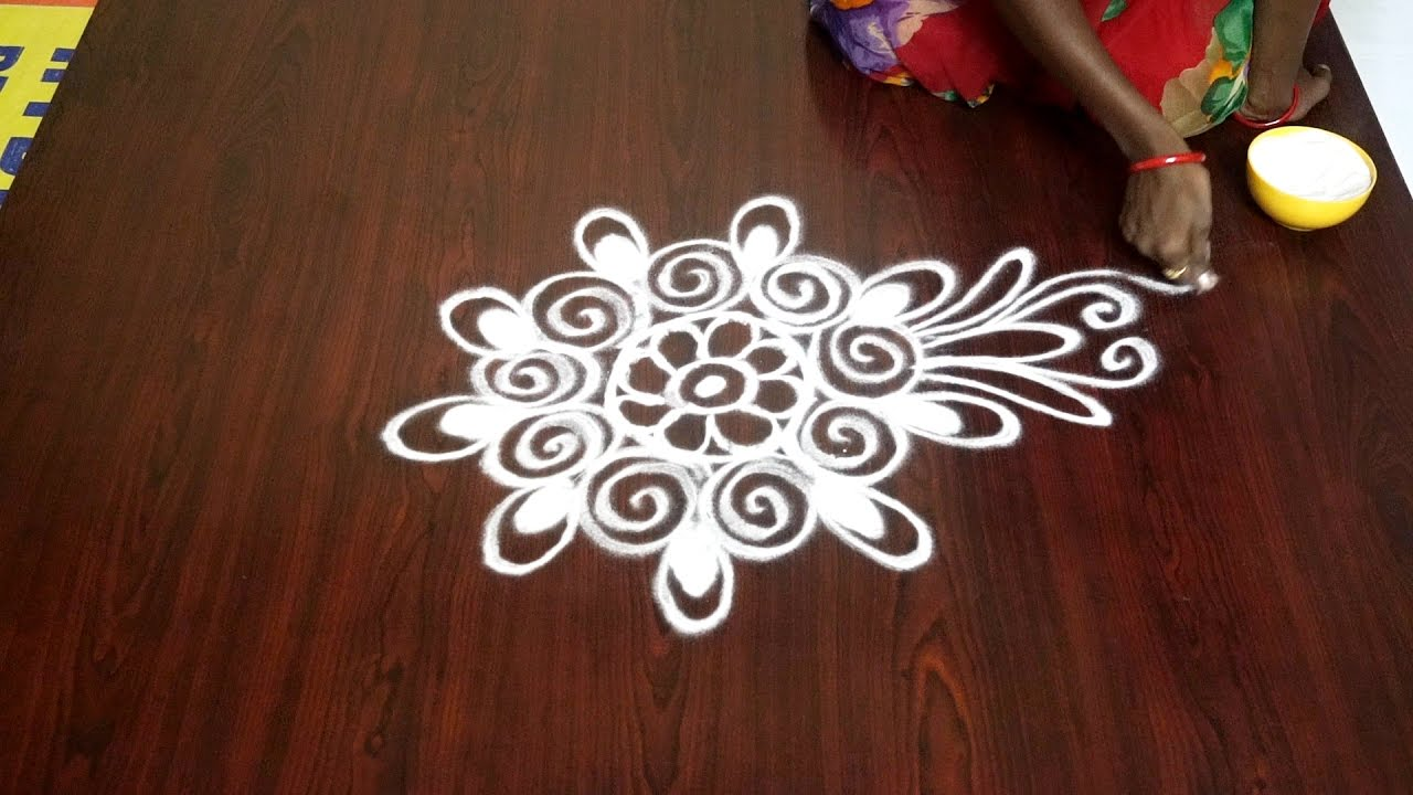 big rangoli designs without dots daily rangoli designs