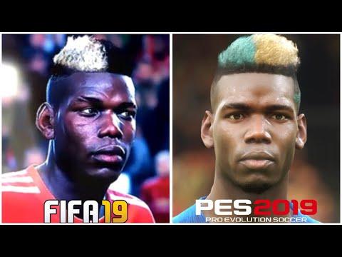 FIFA 19 vs PES 2019 PLAYER FACES (POGBA, SALAH & MORE)  via #FIFA19 #FIFA18 #FIFA19BETA #PES2019 #PES2019DEMO #PES19 #FIFA2019 #MBAPPE #POGBA #SALAH - FestivalFocus