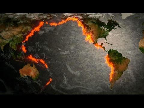 Swarm of Volcanoes Erupting Worldwide Earth's Crust Becoming