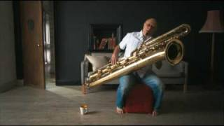 Contrabass Saxophone – Foxed?