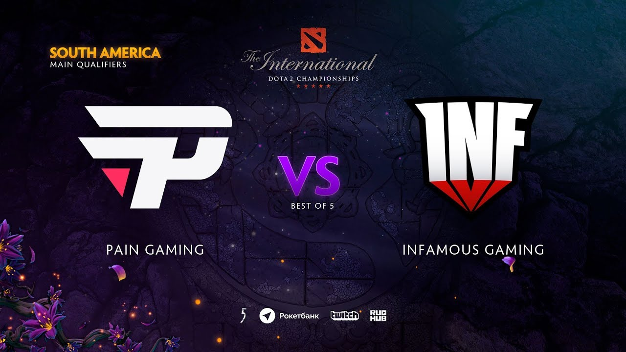 Kết quả hình ảnh cho infamous dota 2 south america qualifier the international 2019