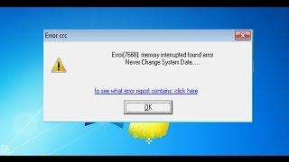 Miracle BOX | setup error miracle error crc  Error (7668)