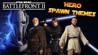 Battlefront 2 | Clone Wars Hero & Villain Theme Ideas (Spawn & Death)