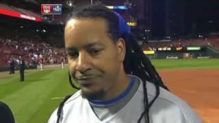 Manny Ramirez  imitates