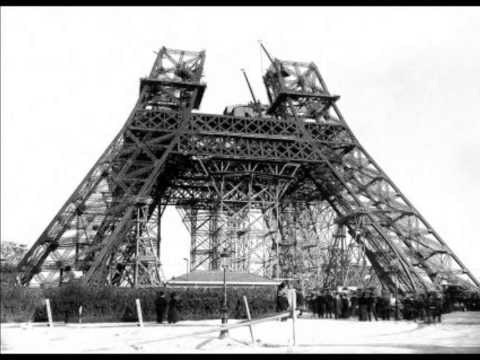 Eiffel Tower Construction 1887-1889
