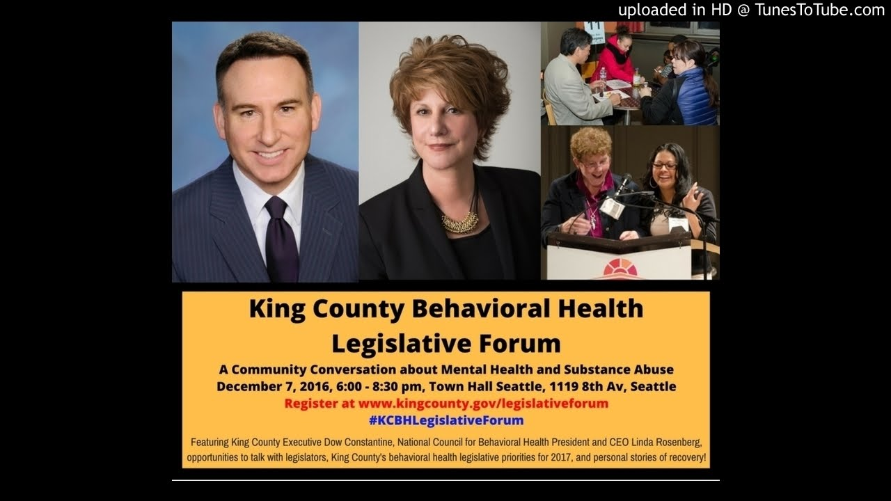 Jim Vollendroff Discusses The 2016 King County Legislative Forum