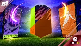 PATH TO GLORY 125K PACK LIGHTNING ROUND! HUGE PULLS! | FIFA 18 PACK OPENING!
