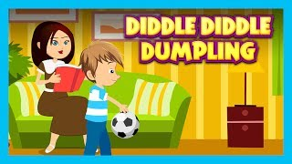 DIDDLE DIDDLE DUMPLING - NURSERY RHYMES || RHYMES AND KIDS SONG - ENGLISH POEMS FOR KIDS thumbnail