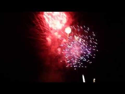 Fourth of July Fireworks Show, Mesa, AZ 2014
