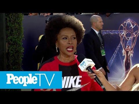 Jenifer Lewis Supports Nike & Colin Kaepernick With Emmys Red Carpet Look | Emmys 2018 | PeopleTV