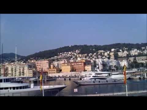 Summer yachts   port of Nice French Riviera