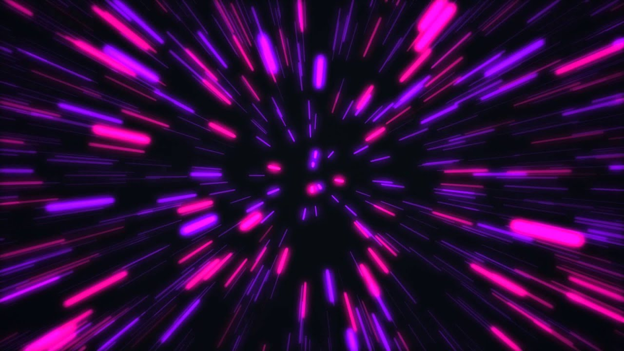 Free After Effects Background Series: Light Speed - YouTube