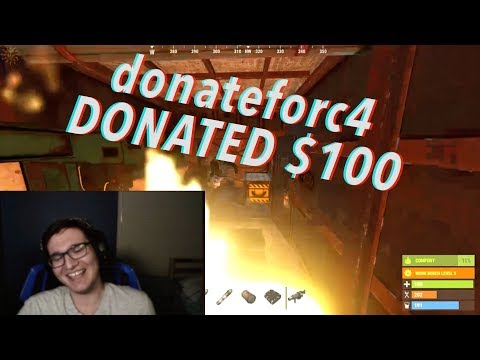 DONATING $100 To See STREAMERS C4 Their OWN BASE!