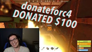 Baixar DONATING $100 to see STREAMERS C4 their OWN BASE!
