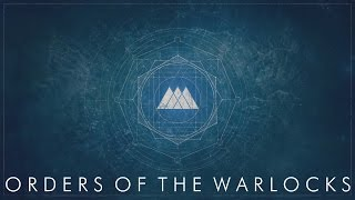 Cover images Destiny Lore - Orders of the Warlocks