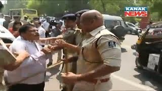 Police Evicts Agitating Teachers In Bhubaneswar