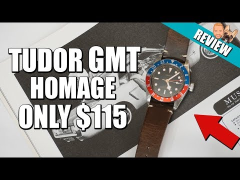 Corgeut GMT - A Tudor Black Bay GMT Homage Watch Review