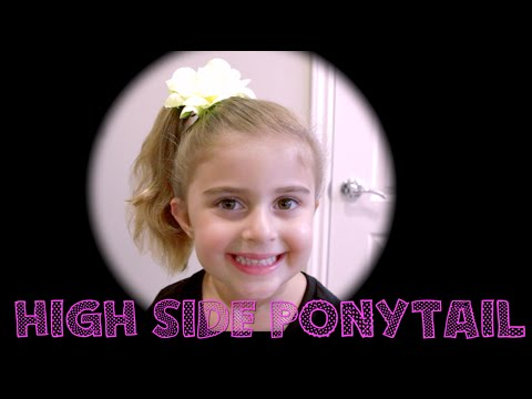 How To Do A High Side Ponytail!