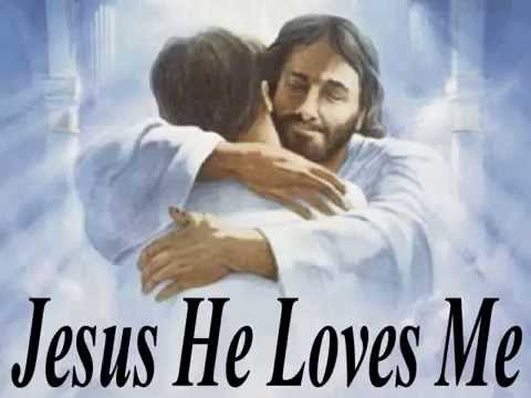 Jesus He Loves Me - Karaoke Low Key - Always Glorify God!!!