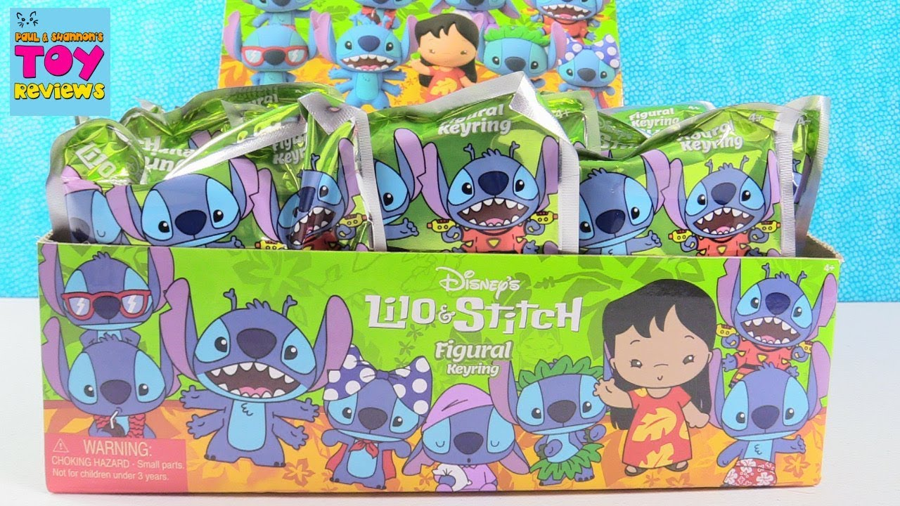 Disney Lilo Amp Stitch Figural Keyring Blind Bag Toy Review