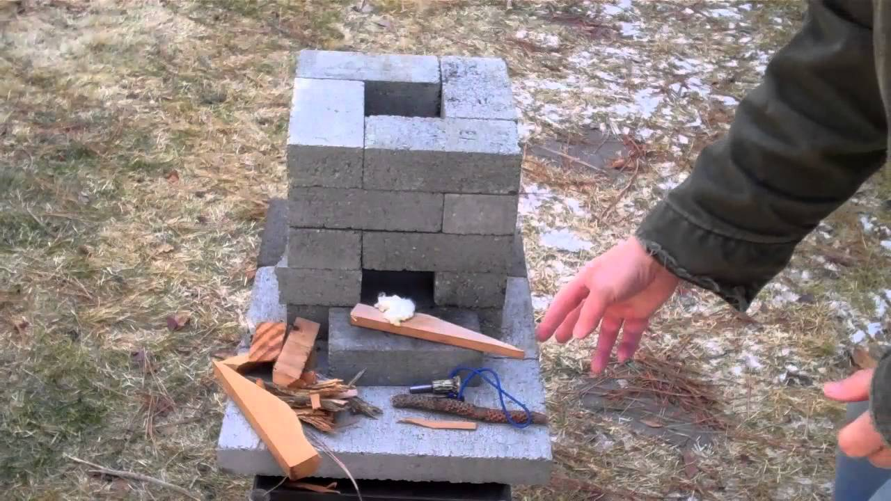 How To Build A Better Brick Rocket Stove For 10 Youtube
