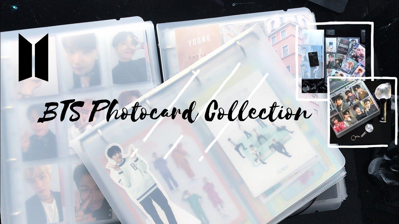 BTS (kpop) Photocard Collection / Binder Tour (방탄소년단) || Moonyoonki
