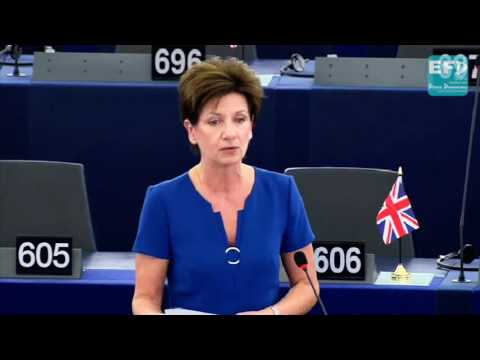 The madness of a borderless EU immigration system - UKIP Leader Diane James