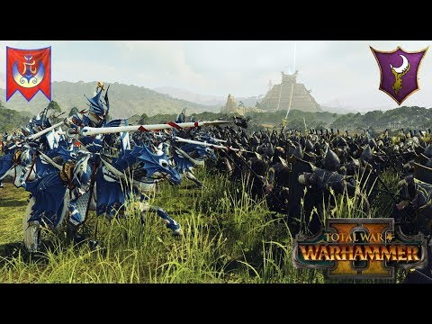 Dragon Princes Best Princes? - High Elves Cavalry Build - Total War Warhammer 2 Multiplayer Battle