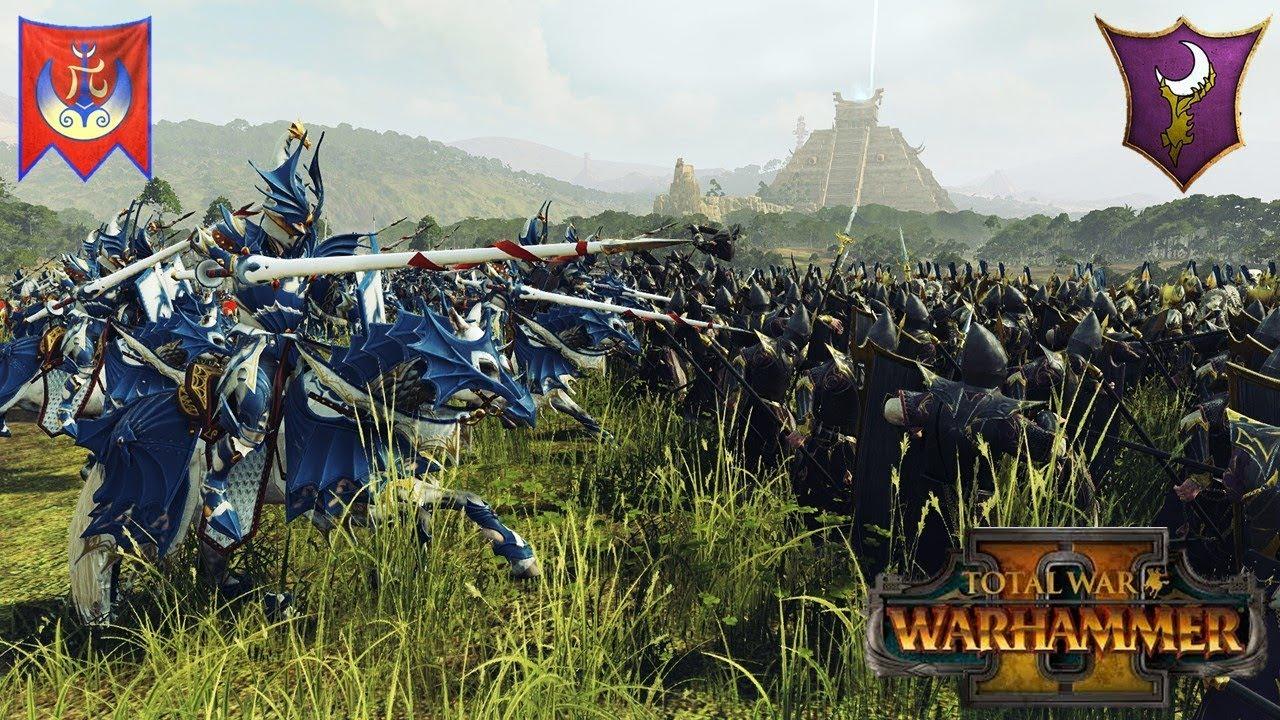 Dragon Princes Best Princes? - High Elves Cavalry Build - Total War  Warhammer 2 Multiplayer Battle