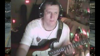 Дядя Серёжа играет Eagles - Hotel California