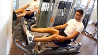 Тренажер Гаккеншмидта - приседания в тренажере: виды и техника выполнения, фото, видео