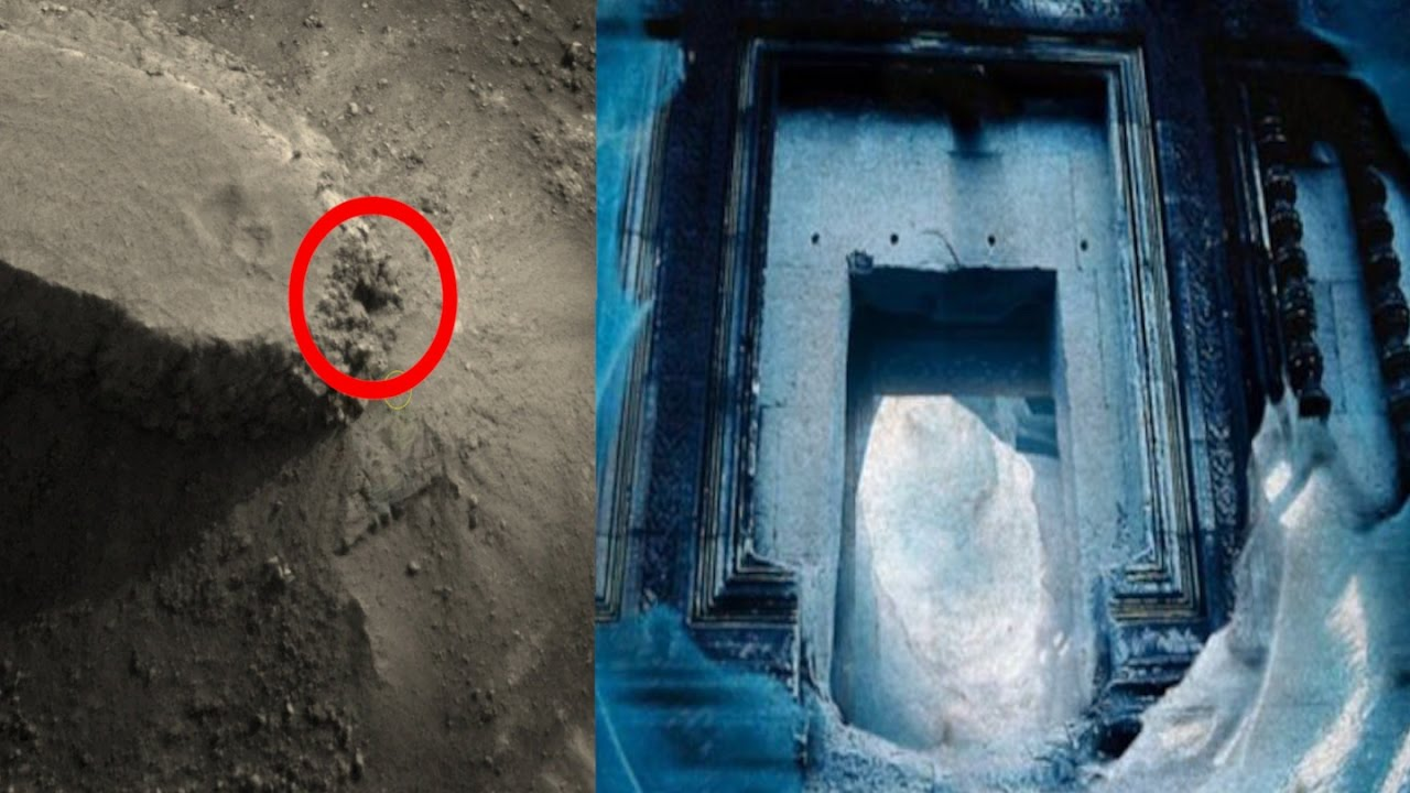 New Nasa Discovery Massive Alien Ufo Base Found On Mars