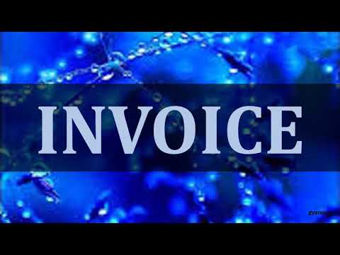 DIFFERENCE BETWEEN INVOICE AND RECEIPT - YouTube