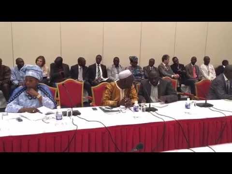 PRESIDENT BARROW'S ADMINISTRATION AND EU  COMMISSION PRESS CONFFERENCE