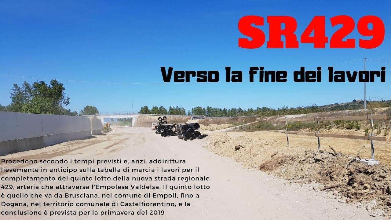 Florencetv Sr 429 I Lavori Del V Lotto Termineranno In