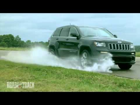 LaFontaine Jeep - 2012 Jeep Grand Cherokee SRT8 Road & Track Review