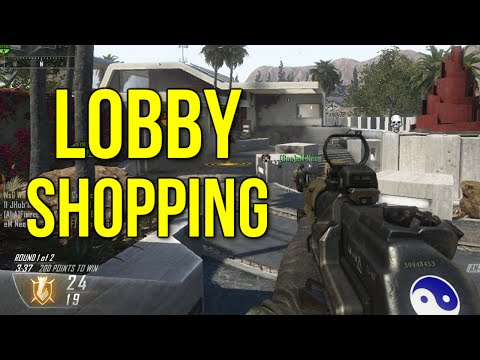 Lobby Shopping & Game Fantasy (Black Ops 2 Gameplay Commentary)
