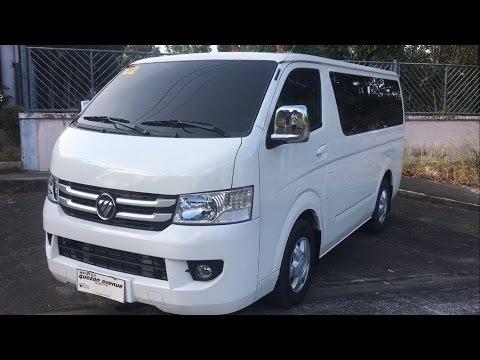 fe399a99f5 2017 Foton View Transvan CS2 2.8L 15 Seater Diesel Turbo FULL REVIEW