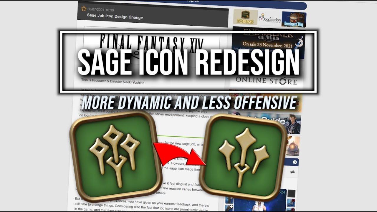 FFXIV: Sage Job Icon Redesign - YouTube