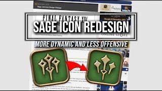 FFXIV: Sage Job Icon Redesign