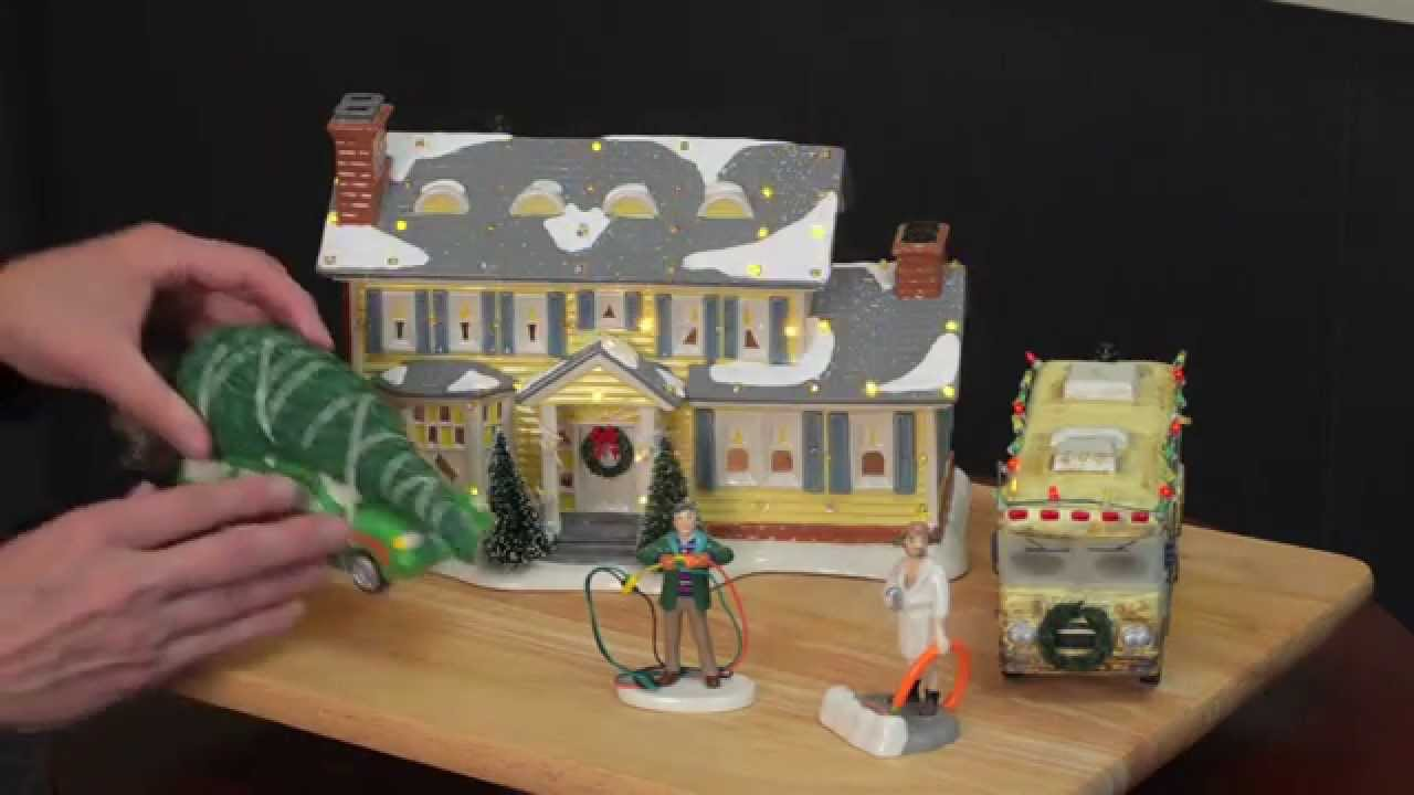 village minute episode 3 national lampoons christmas vacation by department 56 youtube