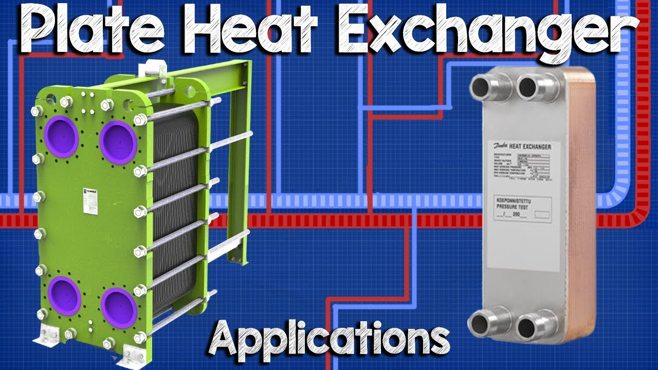 Plate Heat Exchanger Applications And Working Principle