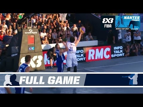 GAME OF THE DAY: Philippines vs. France - Full Game - FIBA 3x3 World Cup 2017