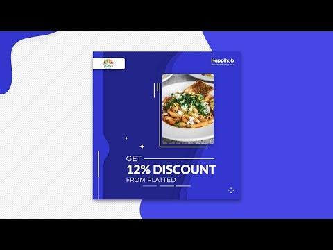 Banner Design in Adobe Photoshop CC | Happihub | Designhob